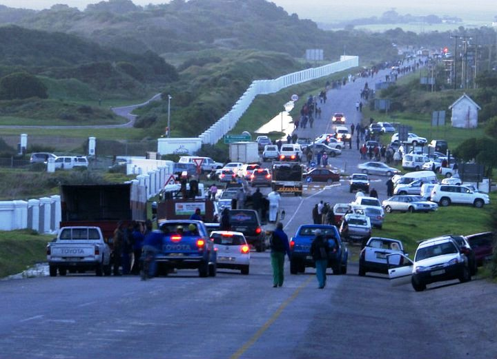 St Francis Bay Bridge Washed Away By Flood Water